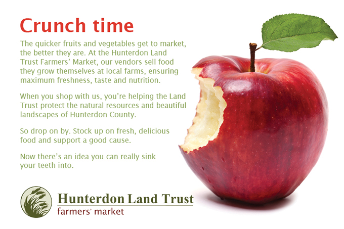 Hunterdon Land Trust Farmers Market, Gattuso Media Design