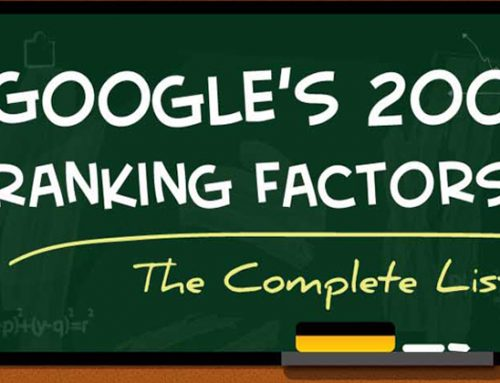 Google's Ranking Factors