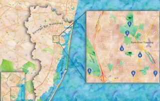 custom map design, gattuso media design, new jersey