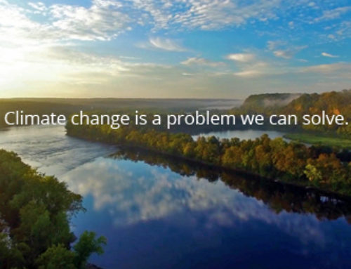 Climate change is a problem we …